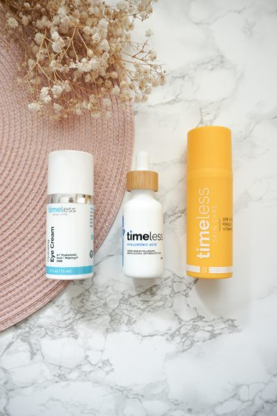 First Time Ever Trying Timeless Skincare Products