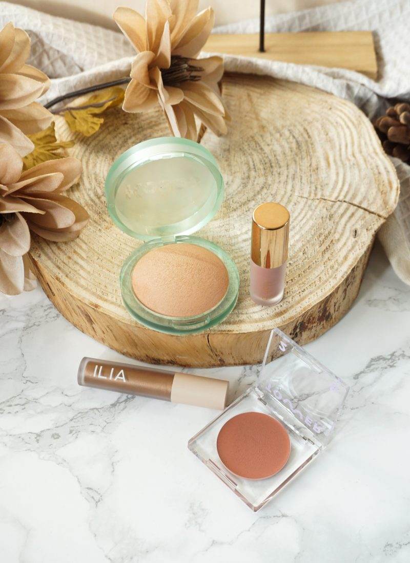 Full Face Using 4 Clean Beauty Brands and Their Products