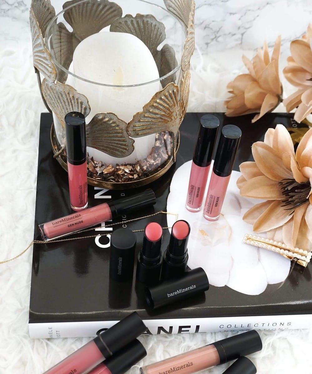 Huge bareMinerals Lipstick Haul