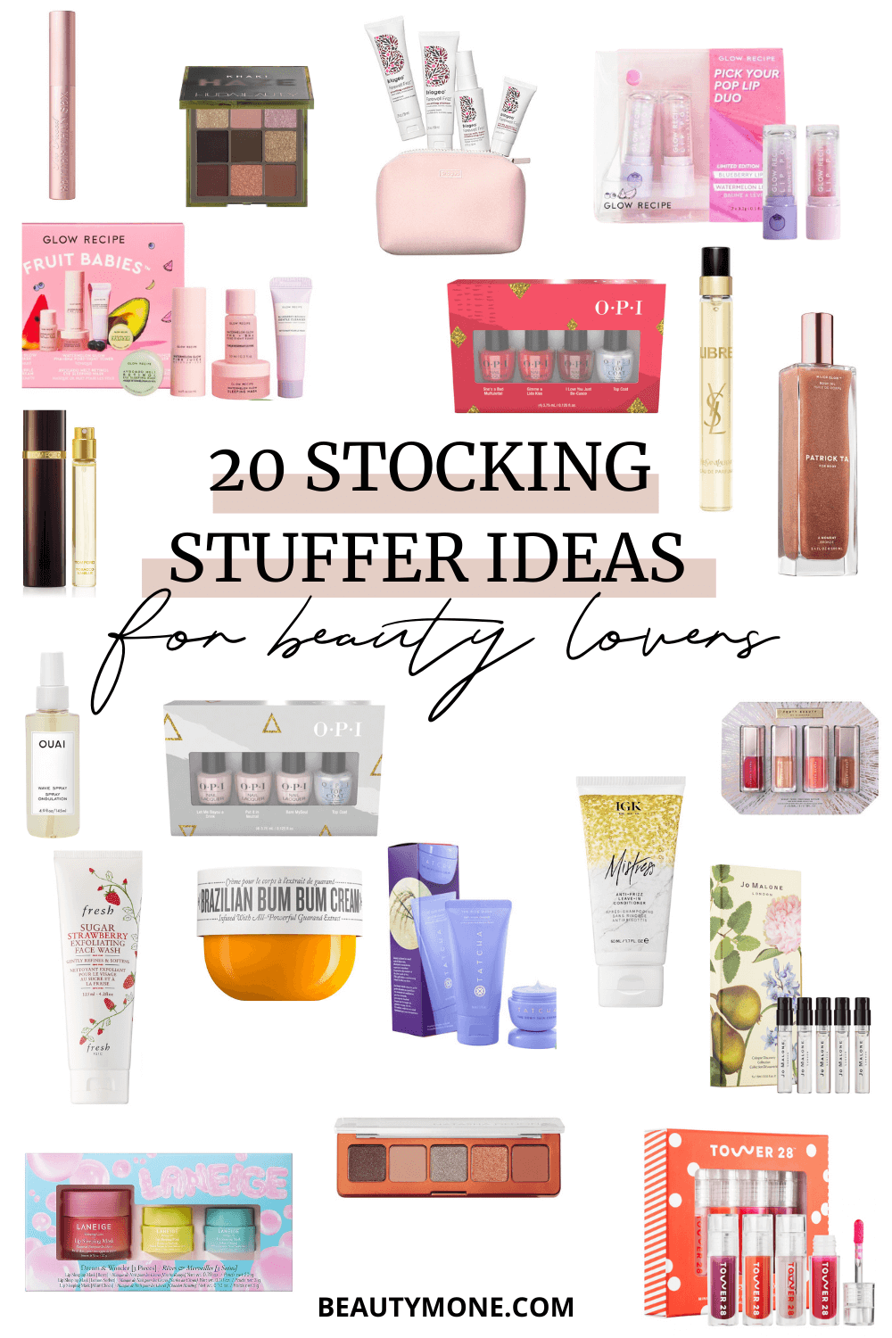 The 20 Cutest Stocking Stuffer Ideas To Gift Beauty Lovers
