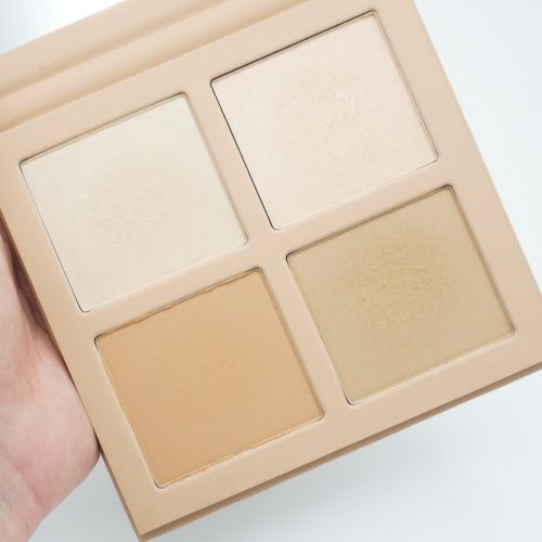 How To Contour And Highlight With The 4-Pan KKW Beauty Powder Contour Kit