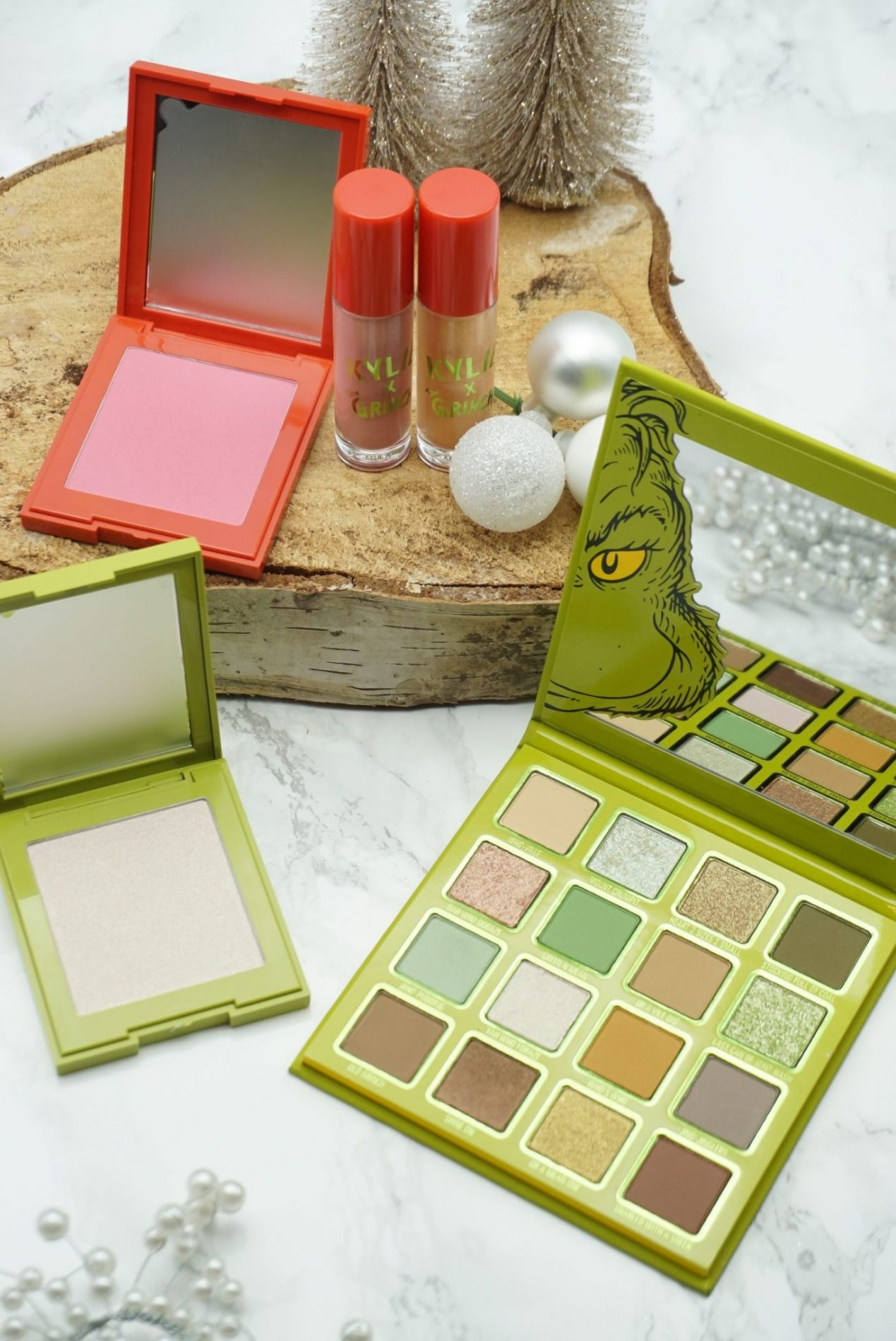 Kylie Cosmetics x The Grinch Holiday Collection 2020