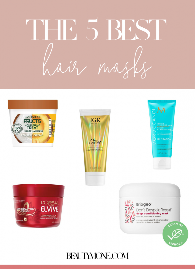 The 5 Best Hair Masks For Damaged Hair