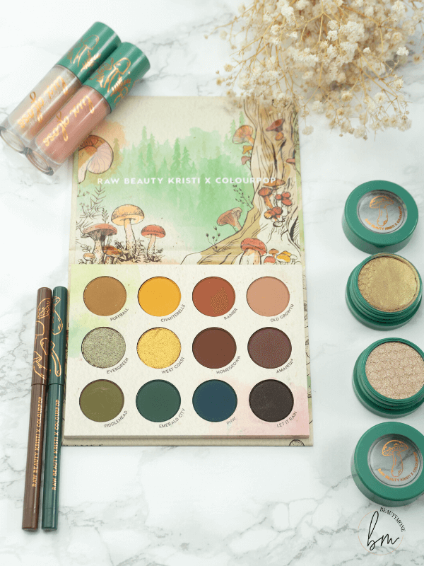 Authentic Forest Vibes With The RawBeautyKristi x Colourpop Collection