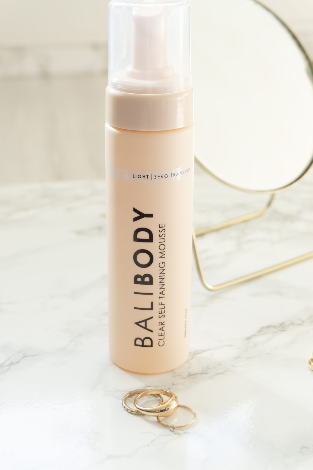 New Water-Based Bali Body Clear Self Tanning Water