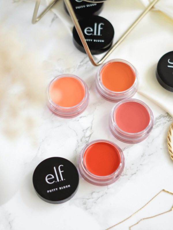 4 New & Popular Elf Putty Blushes Review + Try-On
